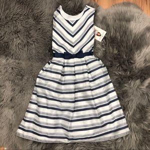 Jona Michelle | Girls Striped Dress